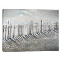 Quadro dipinto a mano Fence 120x90 cm
