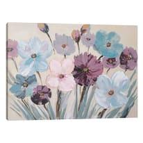 Quadro dipinto a mano Flowery 120x90 cm