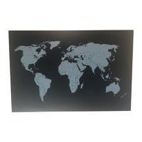 World multicolor 60x40 cm
