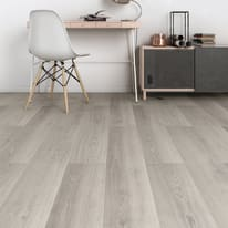 Pavimento laminato Ermelo Sp 8 mm grigio / argento