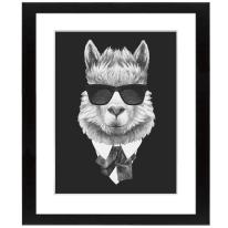 Stampa incorniciata Hipster 40x50 cm