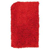 Tappeto antiscivolo Fluffy rosso 100x60 cm