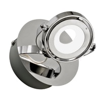 Faretto completo Xena cromo, in metallo, LED integrato 5W 450LM IP20 INSPIRE