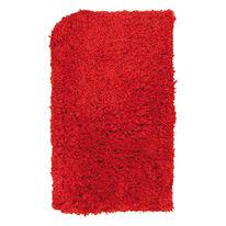 Tappeto antiscivolo Fluffy rosso 70x45 cm
