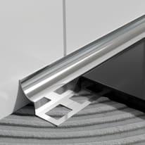 Profilo angolare esterno inox 1 x 250 cm