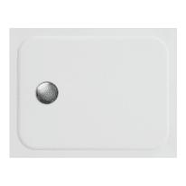 Piatto doccia ultrasottile resina sintetica e polvere di marmo Easy 70 x 90 cm bianco