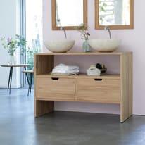 Mobile bagno Kwarto marrone L 110 cm