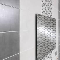 Specchio non luminoso bagno rettangolare Semplice L 60 x H 90 cm