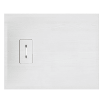 Piatto doccia resina Yuka 100 x 80 cm bianco