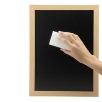 Lavagna per gesso Cancellini bianco 10.9x16.5 cm