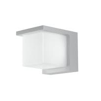 Applique Nismo LED integrato in alluminio, bianco, 12W 1100LM IP44