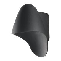 Applique per giardino HURACAN-AP in alluminio, nero, GU10 MAX42W IP54