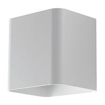 Applique Biome LED integrato in alluminio, bianco, 14W 630LM IP54