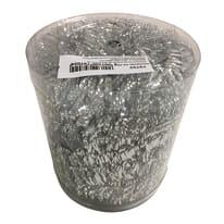 Ghirlanda natalizia grigio / argento L 1000 cm , Ø 11 cm