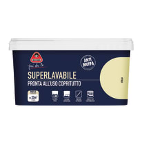 Pittura murale  antimuffa Superlavabile BOERO 2.5 L stella