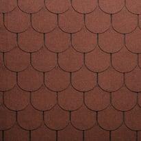 Tegola bituminosa ONDULINE Beaver in bitume 100 x 34 cm, Sp 3 mm rosso