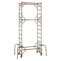Trabattello Mito in acciaio galvanizzato per lavori fino a 4.7 m