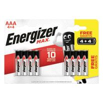 Pila alcalina AAA ENERGIZER 8 batterie
