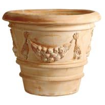 Vaso Festonato in terracotta H 53 cm, Ø 60 cm