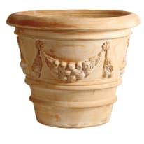 Vaso Festonato in terracotta H 58 cm, Ø 70 cm
