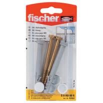 Kit di fissaggio FISCHER L 8 cm x Ø 8 mm 2 pezzi