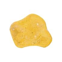 Passo giapponese in calcestruzzo 30 x 30 x 3 cm giallo sabbia