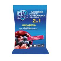 Ricarica sali assorbiumidità Airmax frutti di bosco 2 x 250 g