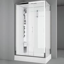 Cabina doccia idromassaggio rettangolare ROYAL 120 x 80 cm