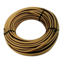 Cavo elettrico h03vvh2-f LEXMAN 2 fili x 0,75 mm² Matassa 5 m oro