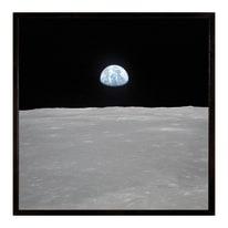 Stampa incorniciata Earth vista 30.7x30.7 cm