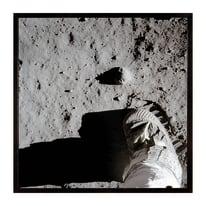 Stampa incorniciata Moon walk 50.7x50.7 cm