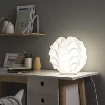 Lampada da tavolo Sky bianco, in plastica, E27 IP20 INSPIRE