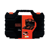 Set di punte BLACK+DECKER 109 pezzi