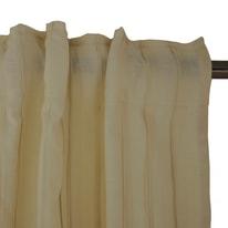 Tenda Augusta beige fettuccia con passanti nascosti 140x300 cm