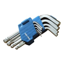 Set di chiave a brugola esagonale o allen (btr) DEXTER 9 pezzi