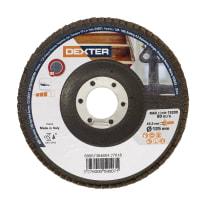 Disco lamellare DEXTER Ø 125 mm grana 80