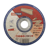 Ruota abrasiva DEXTER per metallo Ø 125 mm