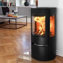 Stufa a legna Aduro 17 6.5 kW nero