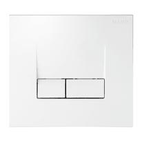 Cassetta wc a incasso SIAMP Cassetta incasso Intraslim + Placca di comando Smarty pulsante doppio comando 7.2 L