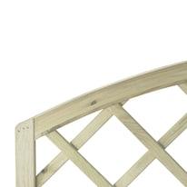 Pannello reticolato in legno Diago 150 x 120 cm