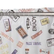 Tenda America multicolor fettuccia con passanti nascosti 140x290 cm