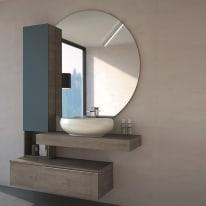 Mobile bagno Eklettica beige L 135 cm