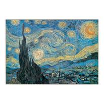 Quadro in legno Notte 100x70 cm