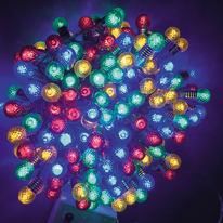 Catena luminosa 200 lampadine LED multicolore