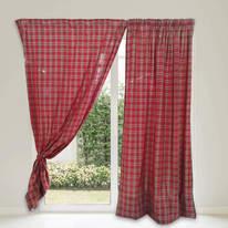 Tenda Scozzese rosso 135x280 cm