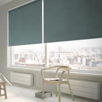 Tenda a rullo Green shade oscurante verde scuro 90x250 cm