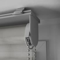 Tenda a rullo INSPIRE Quebec night/day grigio chiaro 120x250 cm