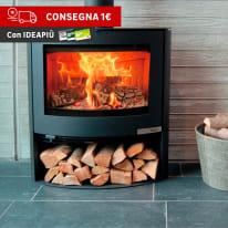 Stufa a legna Aduro 15-2 6.5 kW nero