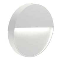 Faretto da incasso da esterno tondo Geo Round LED integrato in fusione di alluminio, acciaio e blu ral 5011, 3W 123LM IP65