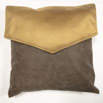 Cuscino Tasca marrone 40x40 cm Ø 53 cm